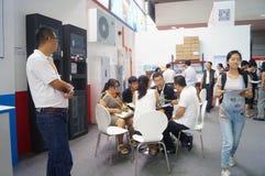 Casa esperta internacional de Shenzhen e expo inteligente do hardware Imagem de Stock Royalty Free