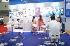 Casa esperta internacional de Shenzhen e expo inteligente do hardware Imagens de Stock