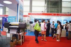 Casa esperta internacional de Shenzhen e expo inteligente do hardware Foto de Stock Royalty Free