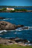 Casa espinosa del punto de Grenada fotos de archivo libres de regalías