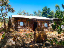 Casa etiopica Immagini Stock Libere da Diritti