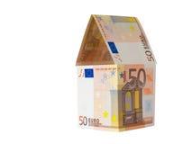 Casa euro Imagen de archivo libre de regalías