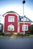 Casa europea hermosa Fotografía de archivo
