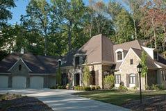 Casa exclusiva nas madeiras Imagens de Stock Royalty Free