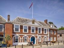 Casa Exter Devon Reino Unido de Custume Imagen de archivo