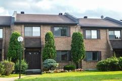 Casa exterior com apelação bonita do freio imagens de stock royalty free