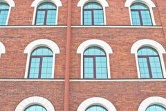 Casa exterior del ladrillo Fotografía de archivo libre de regalías