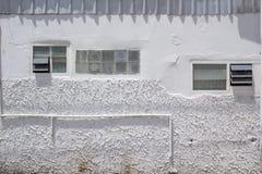 Casa exterior no subúrbio Foto de Stock Royalty Free