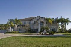 Casa extravagante Fotografia de Stock Royalty Free
