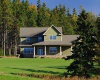 Casa familiar Foto de Stock Royalty Free