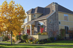 Casa familiar em Wilsonville Oregon Fotos de Stock Royalty Free