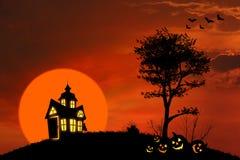 Casa fantasmagórica Imagen de archivo
