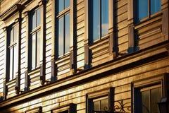 Casa fatta di legno Immagini Stock Libere da Diritti