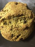 A casa faz o pão do vegetariano Fotografia de Stock Royalty Free