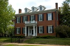 Casa federale di stile fotografie stock