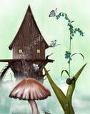 Casa feericamente ilustração do vetor