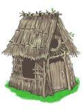 Casa feericamente de um conto de fadas pequeno de três porcos Imagem de Stock