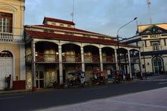 Casa feita do metal em Iquitos, Peru imagem de stock royalty free