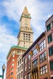 Casa feita sob encomenda Boston Fotografia de Stock