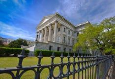 Casa feita sob encomenda do Estados Unidos fotografia de stock royalty free