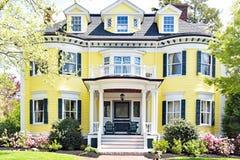 Casa feita sob encomenda Salem Maritime National Historic Site fotos de stock
