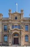 Casa feita sob encomenda velha da fachada Center, Hobart Australia imagens de stock royalty free