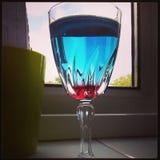 A casa fez o cocktail fotografia de stock