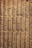 A casa fez o detalhe da textura da cesta de vime imagem de stock