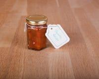 A casa fez o tomate reslish Fotografia de Stock Royalty Free
