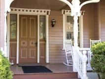 Casa in fine Fotografia Stock