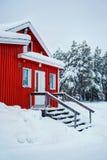 Casa finlandesa Imagen de archivo libre de regalías