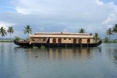 Casa flotante Fotografía de archivo