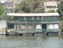 Casa flotante Fotos de archivo