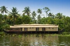Casa flotante Foto de archivo libre de regalías