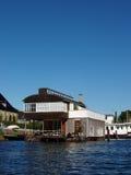 Casa flotante - Copenhague fotografía de archivo