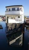 Casa flotante de Sausalito Imágenes de archivo libres de regalías