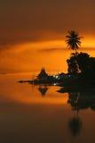 Casa flotante del estilo tailandés Imagenes de archivo