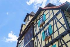 Casa francesa Imagen de archivo libre de regalías