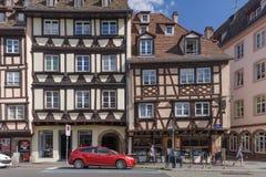 Casa francesa clássica Fotos de Stock Royalty Free