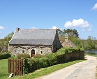 Casa francesa velha da vila Fotos de Stock