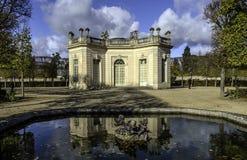 Casa francesa Versalles, Petit Trianon fotografía de archivo libre de regalías