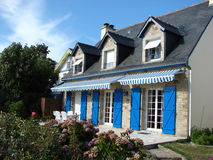 Casa francese Fotografie Stock