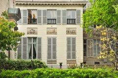 Casa francese classica Fotografie Stock Libere da Diritti