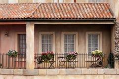 Casa francese rurale Immagini Stock