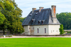 Casa francese tradizionale fotografie stock libere da diritti