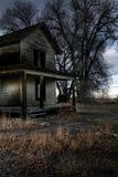 Casa frecuentada Foto de archivo libre de regalías