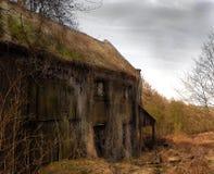 Casa frecuentada Fotos de archivo