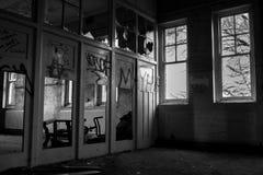 Casa frecuentada abandonada Imagen de archivo libre de regalías
