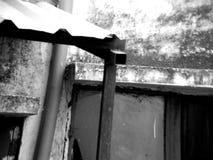 Casa frecuentada vieja Imagenes de archivo