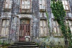 Casa frecuentada vieja en Sintra, Portugal Imagen de archivo libre de regalías